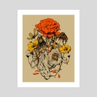 Herbal Network - Art Print by Hafaell Pereira