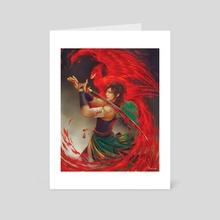 Kurafushichou (Dark Phoenix) - Art Card by Nikittysan