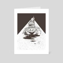 Hermit - Art Card by Justin Gurulé