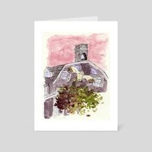 Owl Location Study - Art Card by Brittany Kanabar