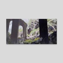Remnants - Acrylic by Yueko
