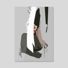 Faceless - Acrylic by Anna McKay