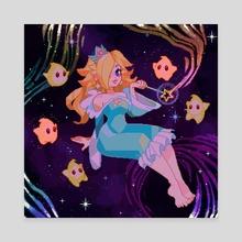 Star Princess - Canvas by Desirae Salmark