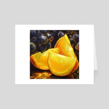 Vitamin C - Art Card by Martha Wirkijowski