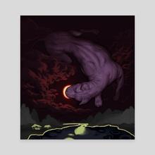 Phenomena (Solar Eclipse) - Canvas by Jacob Sanders