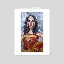 Woman of Steel - Art Card by Grant Cooley