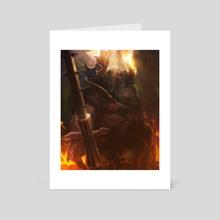Gold guardian - Art Card by Xavier Ribeiro