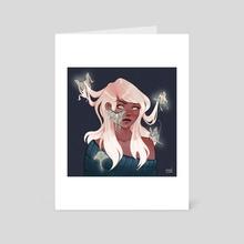 Luna - Art Card by Dani Congdon