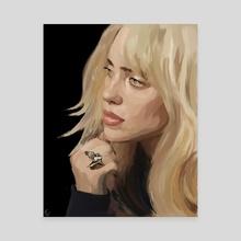 Blonde Bil - Canvas by Tora Crank