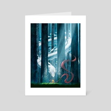 The Dreamer's Silk - Art Card by Ken Tan