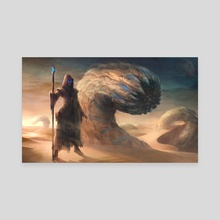 Muad'Dib - Canvas by Yasen Stoilov