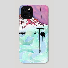 Kitty Laps - Phone Case by Liam Johnston