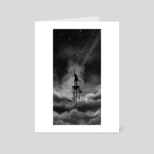 Waiting in the Sky - Art Card by Ra Lu