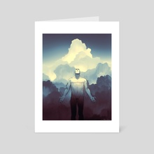 IN-SHADOW: Ascend - Art Card by Lubomir Arsov