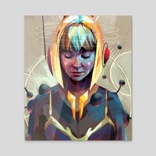 Jina - Acrylic by Kwanchai Moriya