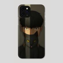 Eye Gazing (B) - Phone Case by Dangel