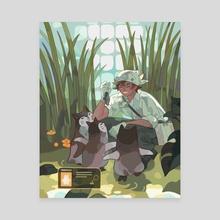 botanist 3 - Canvas by Perci