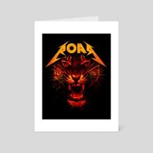 Roar - Art Card by Nicebleed