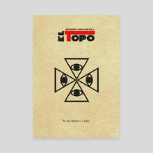 El Topo - Canvas by Deniz Akerman