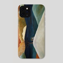 Us Two With A View - Phone Case by Angeles M. Pomata
