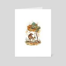 The Lost Sword - Art Card by Raphaelle Monvoisin