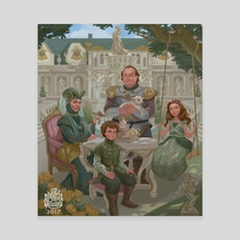 Tyrells before Game of Thrones - Canvas by raymond  waskita