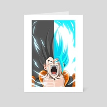 SSGB Vegeto X Gogeta  - Art Card by Kode Subject
