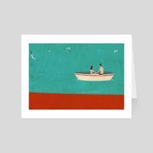 Sunday morning - Art Card by Thomas Campi