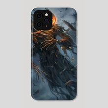 Harvest Moon - Phone Case by Kari Christensen