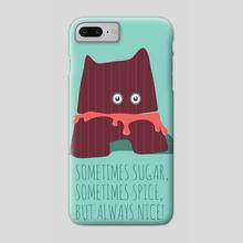 sugar monster's ALMARICA_Berry - Phone Case by Mariana Mattos