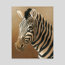 Black and White I - Canvas by Jennifer DiArenzo