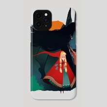 Red Riding Hood - Phone Case by Madeline Haynes