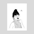 Grimaces - Art Print by Alex Inganni