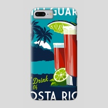 costa rica chili guaro - Phone Case by matt schnepf