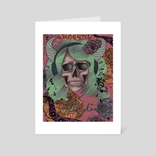 Till Death - Art Card by Rachel Wilson
