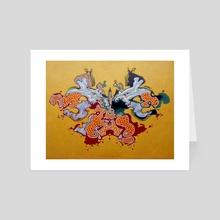 Rorschach - Art Card by federico cortese