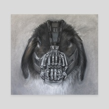 Bubba loves Bane - Canvas by Bubba  loves