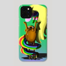 Jake & Lady - Phone Case by Joshua Rhodes III