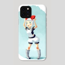 Little Witch - Phone Case by Indré Bankauskaité