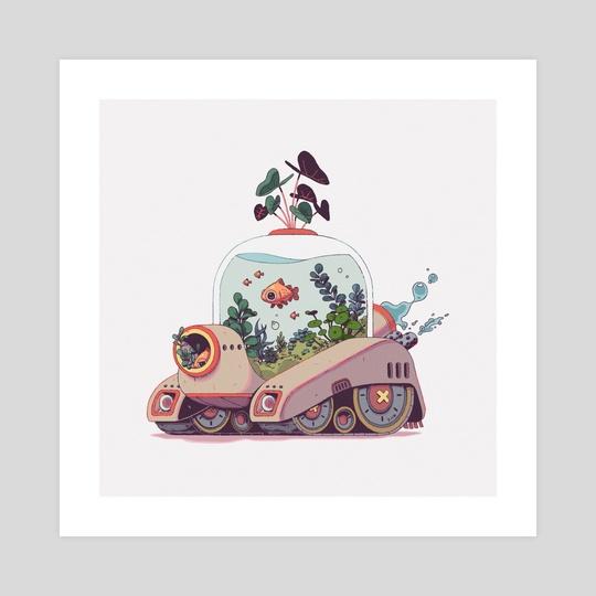 Fish Tank 01 by Caroline Choi