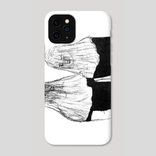 veiled lovers - Phone Case by Alexine Yap