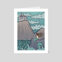 The Little Mermaid - Art Card by Melissa Nettleship