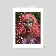 "Starburst - Art Card by Ejiwa ""Edge"" Ebenebe"