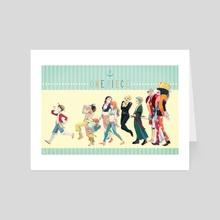 Friends - Art Card by Lydia Baek