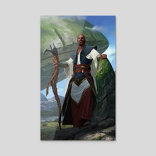 Teferi, Timeless Voyager - Acrylic by Jake Murray Studio Ltd