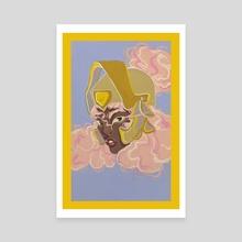 Margo  - Canvas by Addy M.