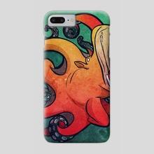 Octopotamus - Phone Case by Beth  Hammer