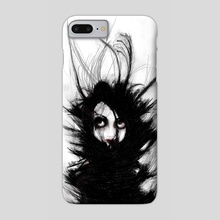 Coiling and Wrestling. Dreaming of You - Phone Case by Rouble Rust