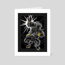 Down the Rabbit Hole - Art Card by Eugenia Zhalnina