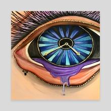 Open Your Eyes - Canvas by adam santana